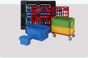 Plastic Crates and Containers