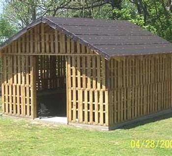 How to build a shed using pallets? | Associated Pallets