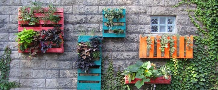 vertical plant holders